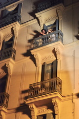 Spain , Madrid , Balcony (1)